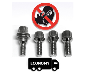 LOCKING WHEEL BOLTS EXPERTS - protect your aluminum wheels against theft