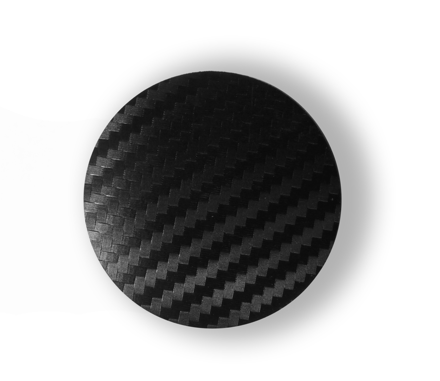 Carbon wheel center caps 52 mm - free shipping
