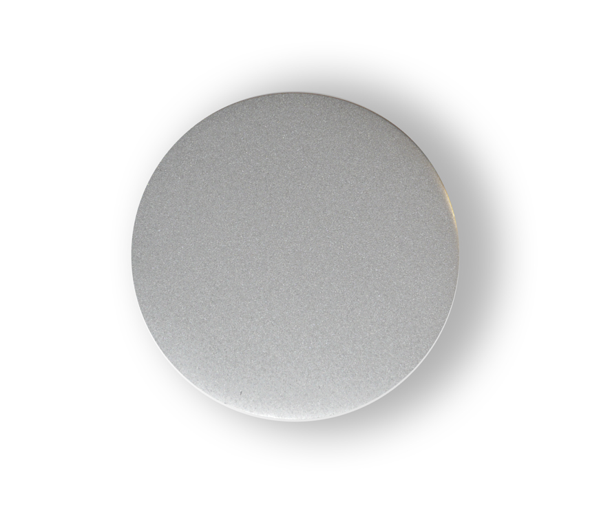 Tuning Silver wheel center caps 52 mm - free shipping