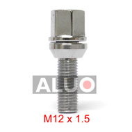 These wobbly - floating bolts M 12x1,5 ( M 12 x 1,5 ) can adjust - modify PCD of your new aluminium wheels when the PCD of your car wheel hub is smaller or larger. Maximum possible correction is plus 2,3 mm or minus 2,3 mm. Free shipping.