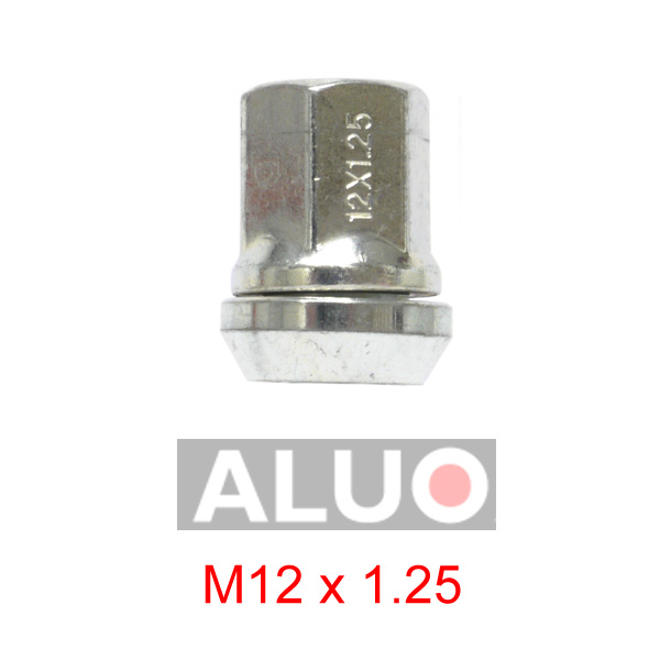 These wobbly - floating bolts M 12x1,25 ( M 12 x 1,25 ) can adjust - modify PCD of your new aluminium wheels when the PCD of your car wheel hub is smaller or larger. Maximum possible correction is plus 2,3 mm or minus 2,3 mm. Free shipping.