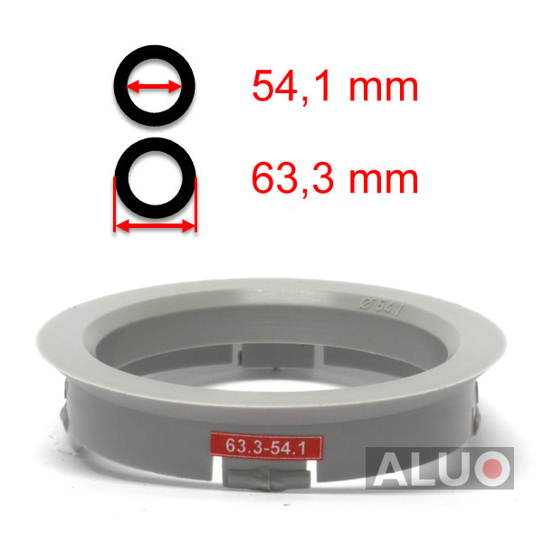 Hub centric - spigot rings 63,3 - 54,1 mm ( 63.3 - 54.1 ) - free shipping