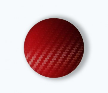 Carbon Red wheel center caps 60 mm - free shipping